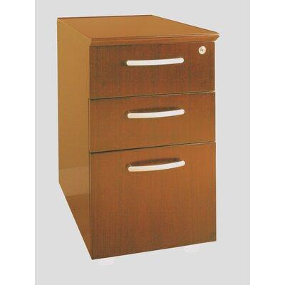Mayline Group Napoli Series 3-Drawer Box