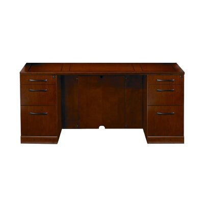 Mayline Group Sorrento Credenza with 2 Pedestals
