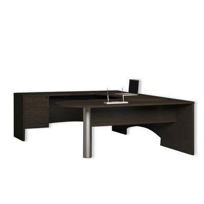 Mayline Group Brighton U-Shape Desk Office Suite