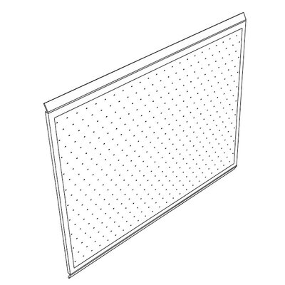 Mayline Group IT Furniture Peg Boards