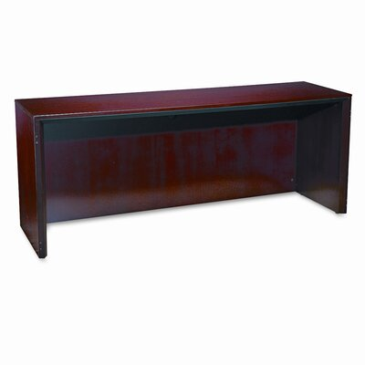 Mayline Group Corsica Series Credenza, 72W X 20D X 29-1/2H, Sierra Cherry Frame/Top
