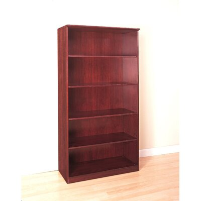 "Mayline Group 68"" H Five Shelf Bookcase"