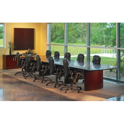 Mayline 12' Napoli Conference Table