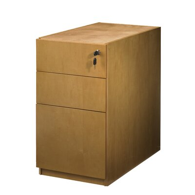 "Mayline Group Luminary 19"" Pedestal with Three Drawers"