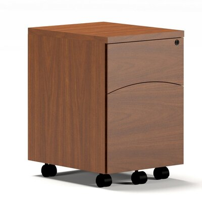 Mayline Group Brighton Bow Front Executive Desk