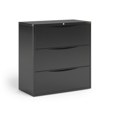 Mayline Group Three-Drawer Steel Lateral File