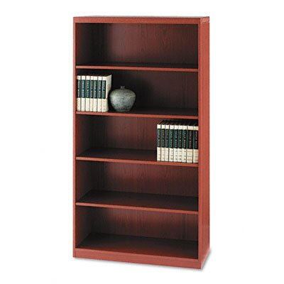 Mayline Group Aberdeen Series Laminate 5-Shelf Bookcase