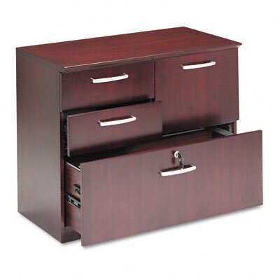 Mayline Group Corsica 4-Drawer Combination File