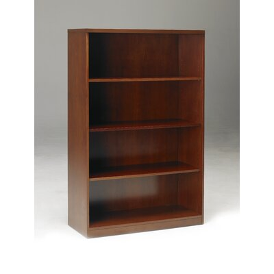 Mayline Group Stella Four Shelf Bookcase in Toffee