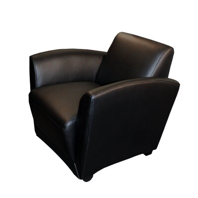 Mayline Group Santa Cruz Leather Mobile Lounge Chair