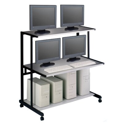 Mayline Group NetStart LAN Support Stations: 48&quot; W LAN Station
