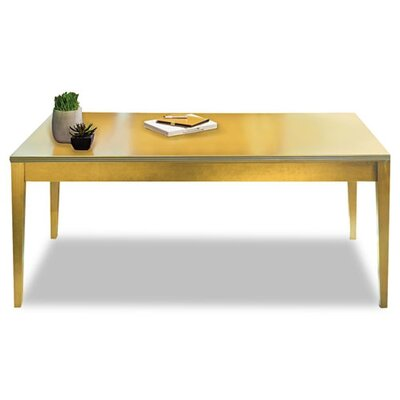 Mayline Group Luminary Series Wood Veneer Table Desk