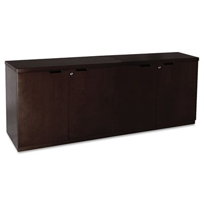 Mira Series Veneer Hinged Door Credenza