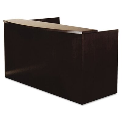 Mayline Group Mira Series Wood Veneer Reception Desk Shell