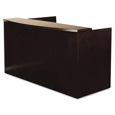 Mayline Group Mira Series Wood Veneer Reception Desk Shell