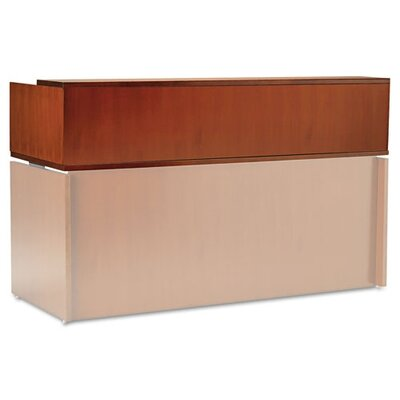 Mayline Group Stella Series Reception Counter in Toffee
