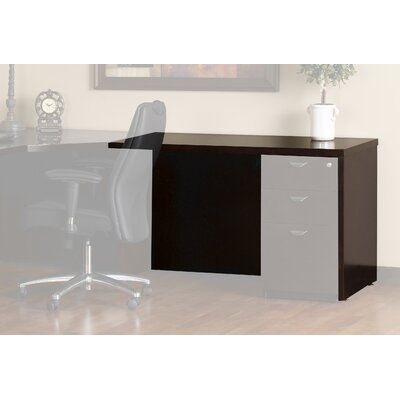 "Mayline Group Mira 29.38"" H X 36"" W Desk Return"