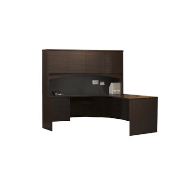 Mayline Group Brighton L-Shape Desk Office Suite