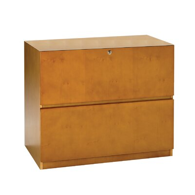 Mayline Group Luminary Lateral File Cabinet with Unfinished Top