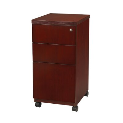 Mayline Group Luminary File Pedestal with Casters