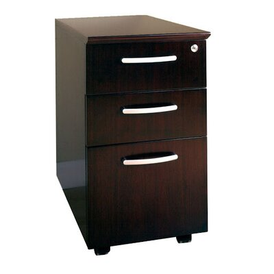 Mayline Group 3-Drawer Mobile Pedestal Box/Box/File