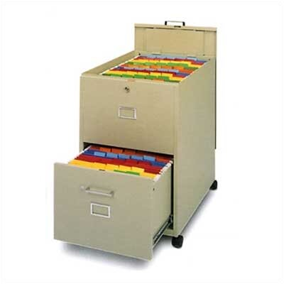 Mayline Group Mobilizer: Legal Size File with Lid and Drawer