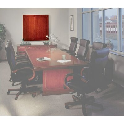 Mayline Group Toscana White Board Cabinet