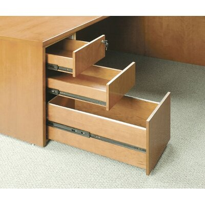 "Mayline Group Luminary 22"" Pedestal with Three Drawers"