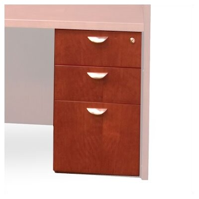 Mayline Group Mira 3-Drawer Desk Pedestal