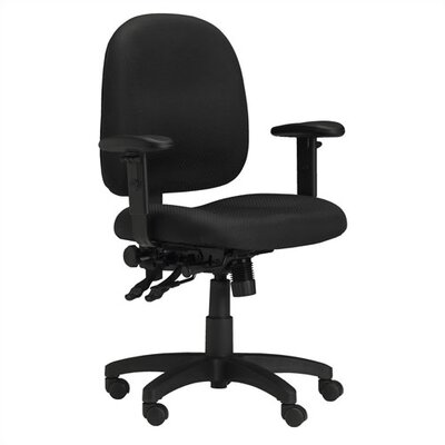 Mayline Group Mid-Back Task Chair with Arms