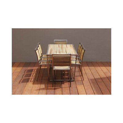 R+V Living Plantation 180cm x 80cm Dining Table with Flat Pack