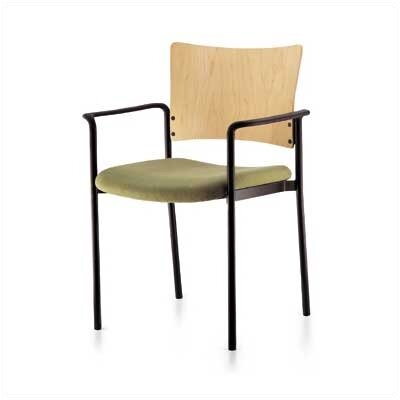 Source Seating Keystone Staxx Stacking Chair (Finished Wood)