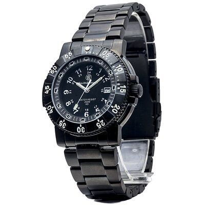 Commander Men's Tritium H3 Round Face Link Watch