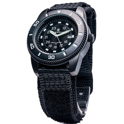 Commando Men's Round Face Watch