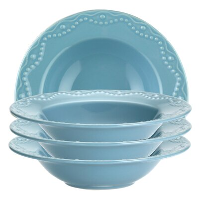 Paula Deen Dinnerware Whitaker Soup Bowl (Set of 4)