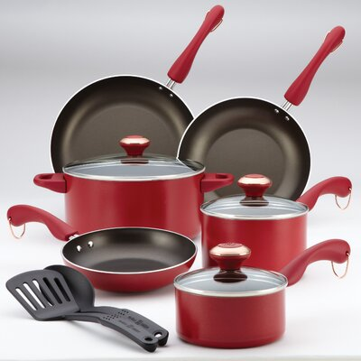 Signature Dishwasher Safe Nonstick 11-Piece Cookware Set