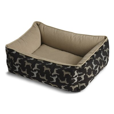 Crypton Bumper Style Rotator Dog Bed