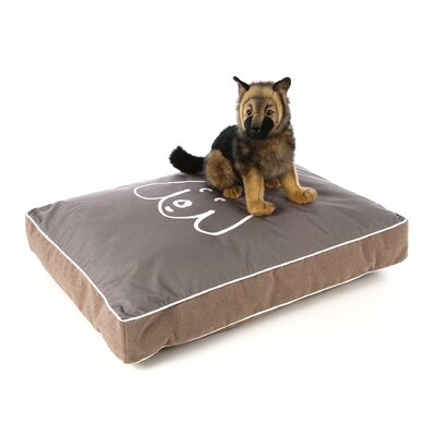 Crypton Bumper Style Eared Dog Pillow