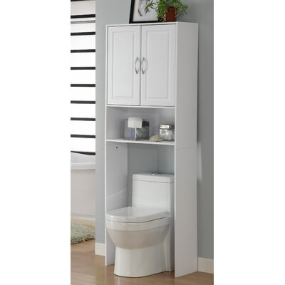 4D Concepts Storage And Organization Over The Toilet Cabinet Reviews