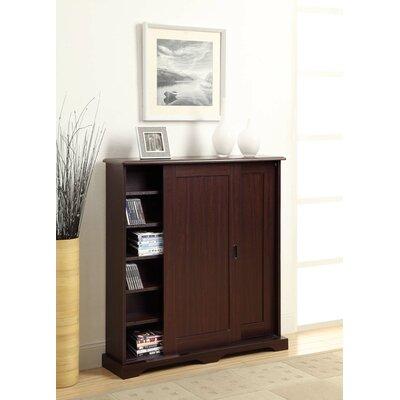 4d concepts entertainment sliding door multimedia cabinet. Black Bedroom Furniture Sets. Home Design Ideas