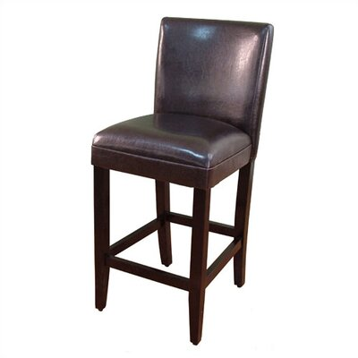 Deluxe Barstool in Brown