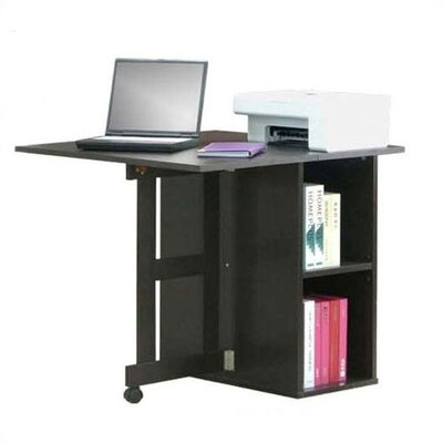 4D Concepts Folding Desk with Drop Leaf