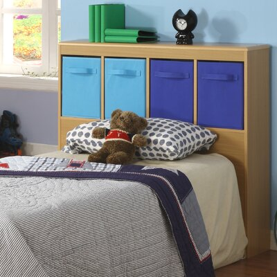 4D Concepts Boy's Twin Bookcase Headboard
