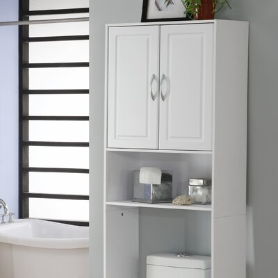 Double Door Spacesaver in White