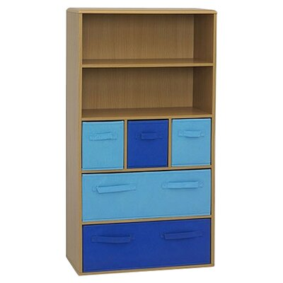 "4D Concepts Boy's Storage 47.3"" Bookcase"