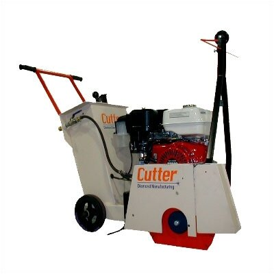 "Cutter Diamond 13 HP 14"" Blade Capacity Heavy Duty Walk Behind Floor Saw"