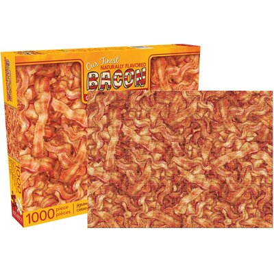 NMR Distribution Bacon 1000 Piece Jigsaw Puzzle
