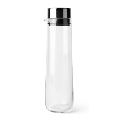 Water Carafe with Steel Lid