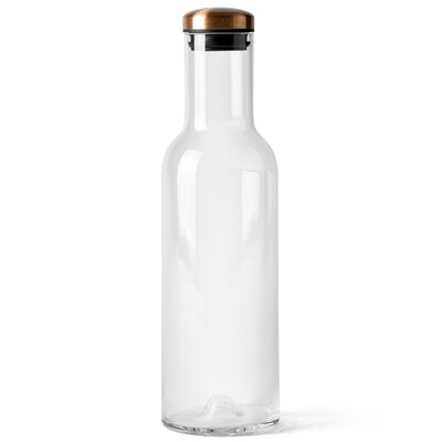 Menu Water Bottle Carafe with Copper Lid