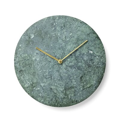 Menu Marble Wall Clock